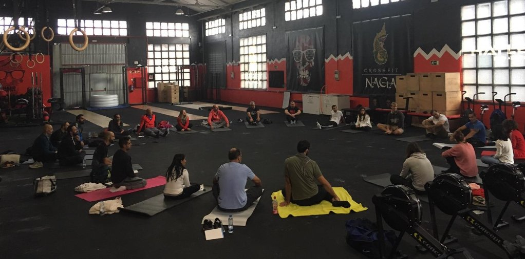 Metodo Wim Hof en CrossFit Naga Madrid por Luke WIlls