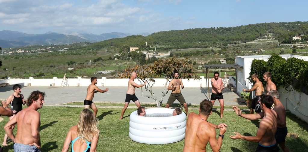 Metodo Wim Hof en Tramuntana Flow Mallorca por Luke WIlls